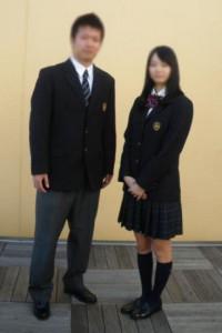 石神井高等学校制服画像