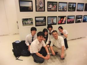 第58回写真連盟写真展にて